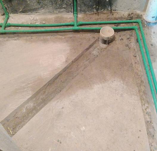实用卫生间马桶移位方案 一卫改两卫轻松解决